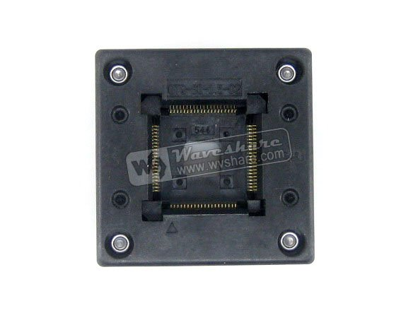 module QFP80 TQFP80 LQFP80 PQFP80 OTQ-80-0.5-02 QFP IC Test Burn-In Socket Enplas 0.5mm Pitch tms320f28335 tms320f28335ptpq lqfp 176