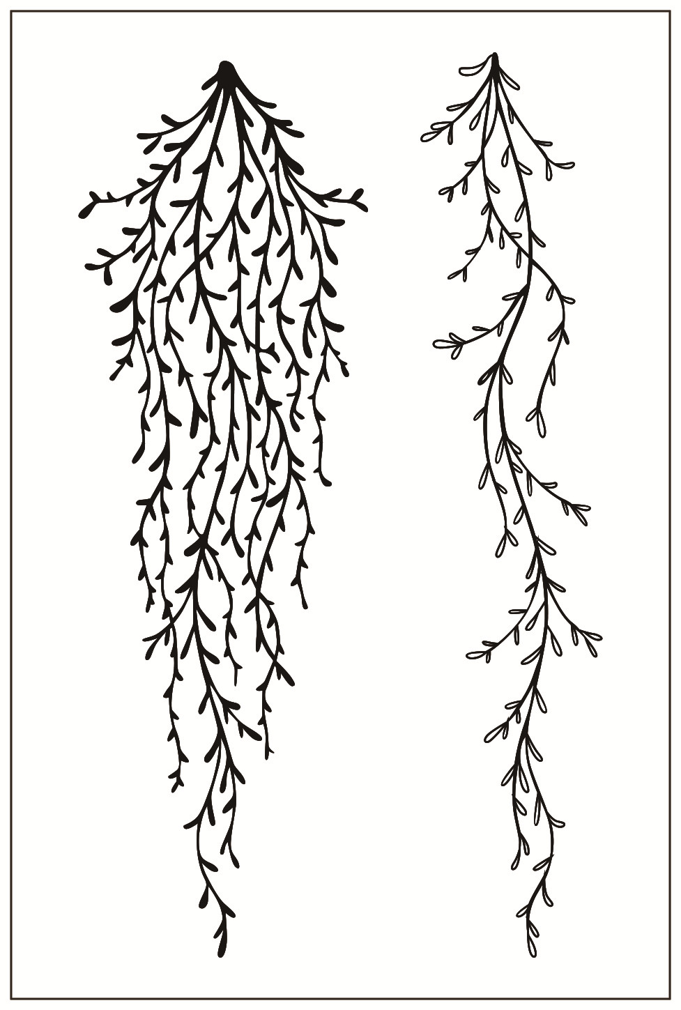 Tree Flower Transparent Silicone Clear Rubber Stamp Sheet Cling DIY Scrapbooking