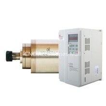 все цены на 3.2kw ER20 D105mm water cooled spindle motor for cnc engraving machine AC220V/AC380V & 3.7kw VFD Inverter онлайн