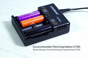 Image 5 - LiitoKala Lii PL4 18650 Carregador de Bateria 21700 26650 18350 AAA AA Rápido mart carregador Para Li ion 4.2 V/4.35 V Li Fe 3.6 V Ni MH 1.2 V