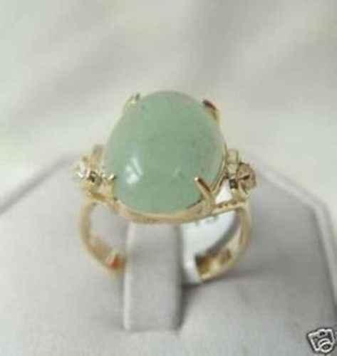 จัดส่งฟรี>>>@@ 0xประเสริฐเครื่องประดับหยกสีเขียวขนาดแหวนผู้หญิง's 7 8 9 #