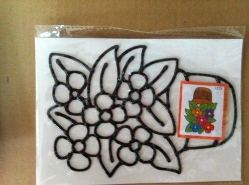 DIY цвет рисунок, темперной живописи игрушка, 11*19 см