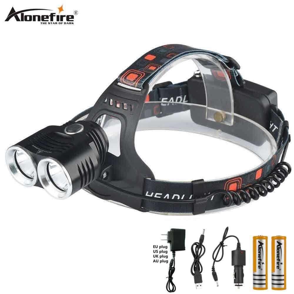 USB Rechargeable Waterproof LED Headlamp//Headlight//Headtorch Running Camping UK