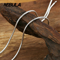 Thai Silver 2mm Snake Chain Necklace New Fashion 100% Authentic 925 Sterling Silver Necklace Women Men jewelry
