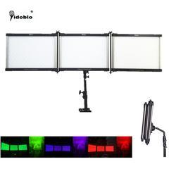 Yidoblo APP & Remote control Folding LED panels video light RGB & BIO Color LEDs durable Aluminum Body Studio Folable LED Lamp