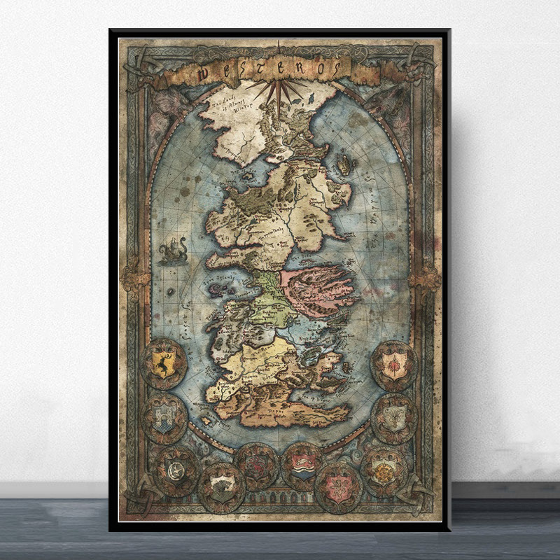 Best Game Of Thrones Poster Print Wall Brands And Get Free