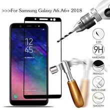 Закаленное стекло для samsung Galaxy A6 A600FN SM-A600F Защита экрана для samsung A6 Plus A6Plus A605FN SM-605F A 6
