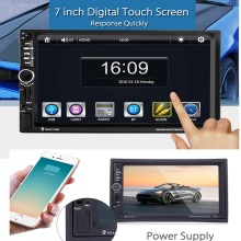 Univeral 2 DIN Car DVD Video Player Touch Screen GPS Navigation 1080P HD Player USB MP4/MP5 Bluetooth Support Rear View Reverse