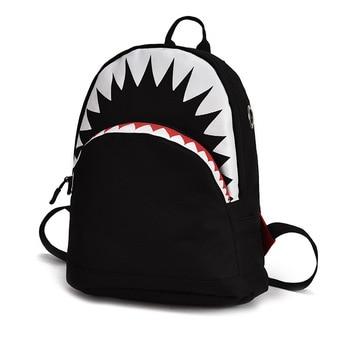 cartoon shark backpacks children School Bags for boys girls Kids Schoolbag kindergarten school backpack mochila escolar infantil 2016 cartoon princess elsa school bags for girls children mini schoolbag kids bookbags kindergarten mochila