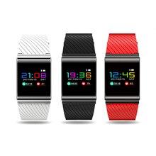 Nouveau X9PRO Bracelet À Puce pour La Pression Artérielle D'oxygène Coeur Taux De Détection Intelligent Bracelet avec écran OLED tactile Coloré