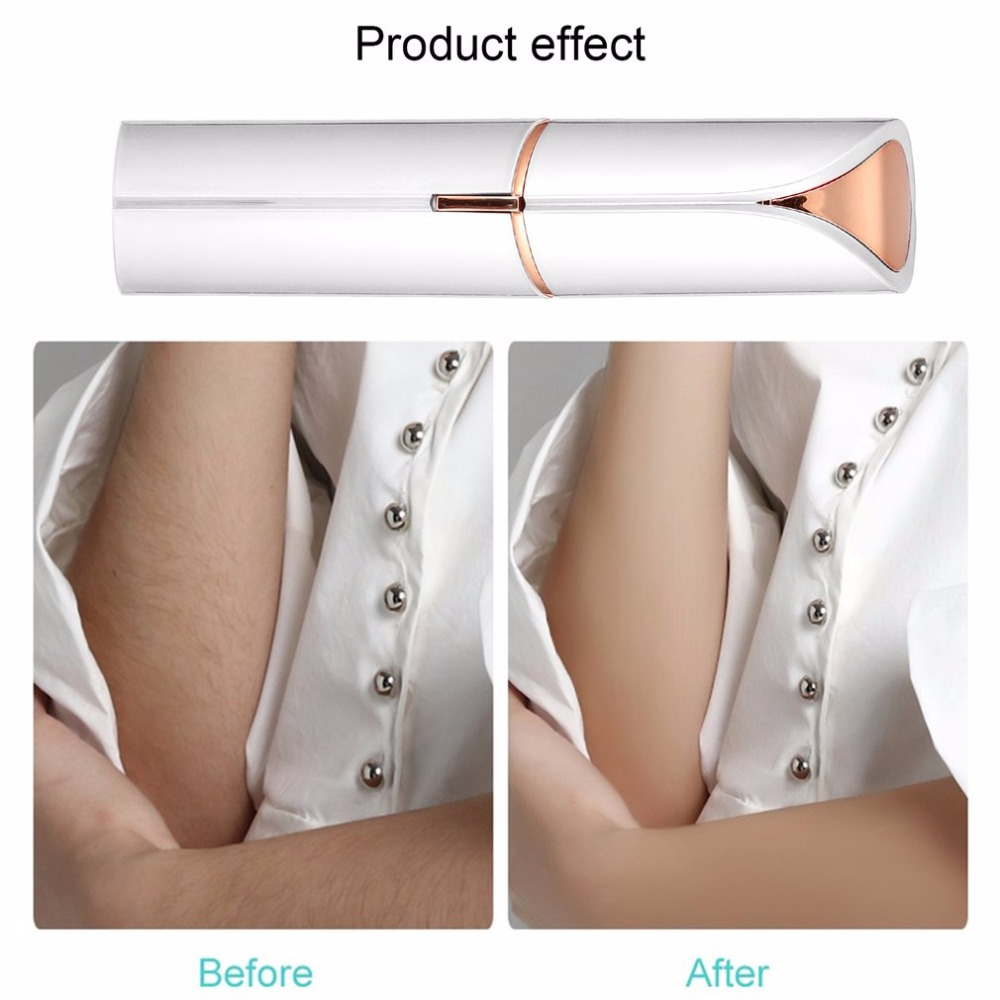 Women USB Rechargable Electric Painless Hair