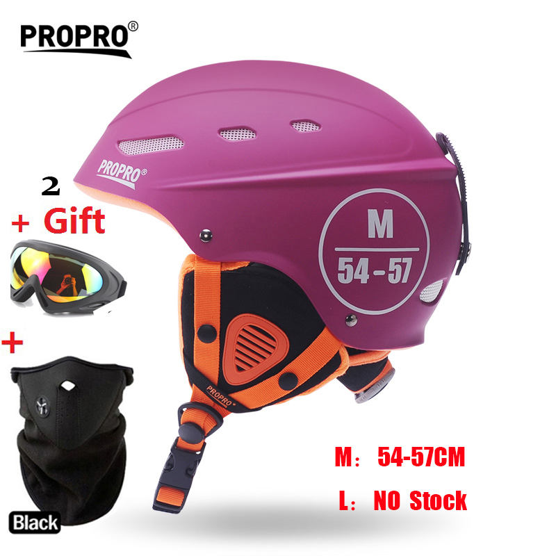 MOON Pink Women Skateboard Ski Snowboard Helmet Integrally-molded Ultralight Breathable Skiing  Helmet CE Quality pink ski helmets cover motorcycle skiing helmets best outdoor safety helmet for skiing snowboard skating adult men women