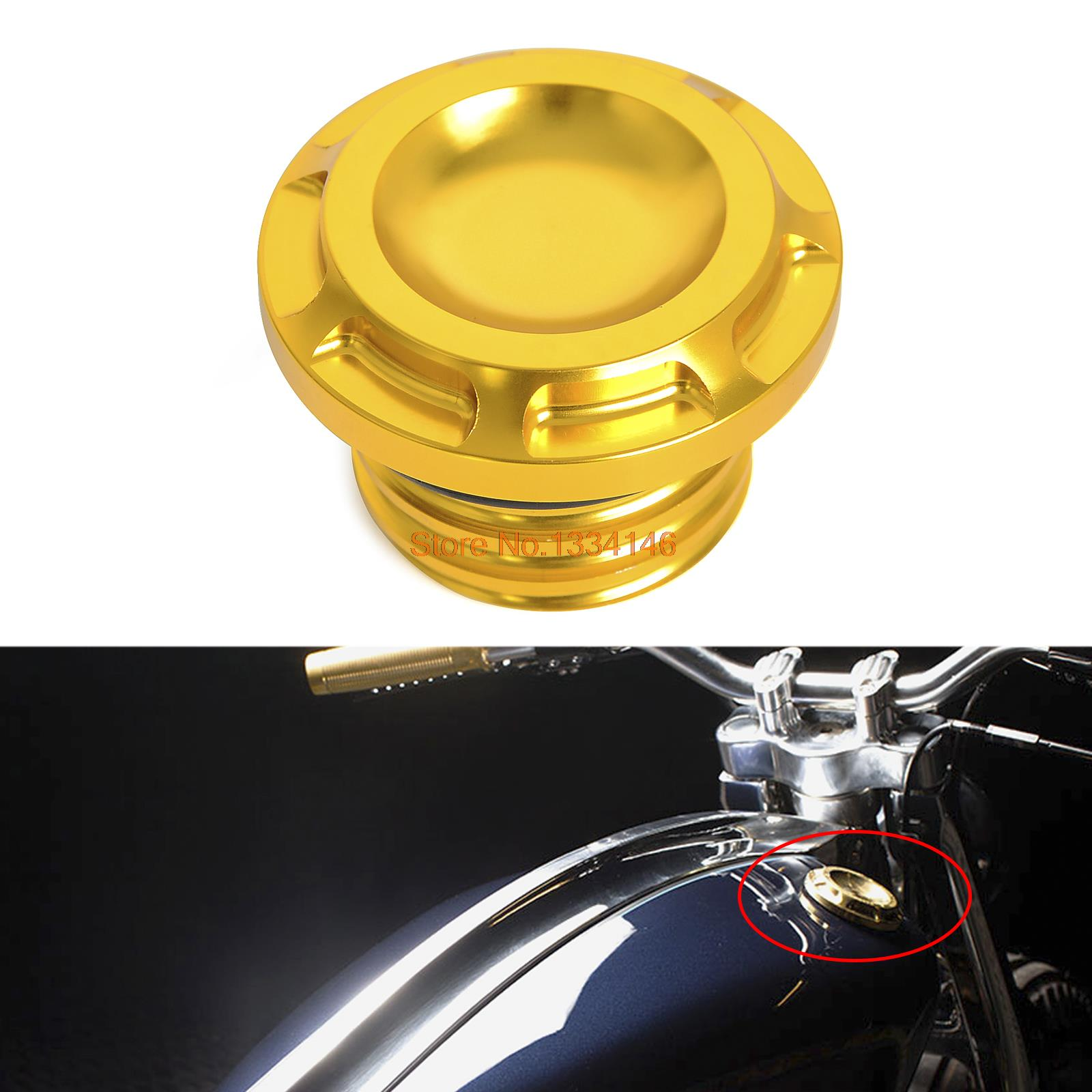 Locking Petrol Cap for Harley-Davidson 1996 to present