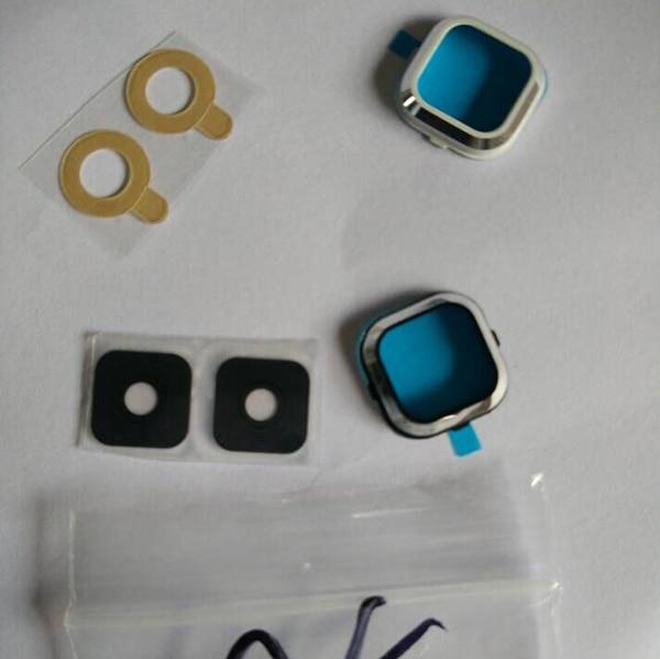 50Pcs Black and White Original New Camera Lens Ring Cover For Galaxy A5 A500 SM-A500 A500F A5000 Camera Holder Free shipping