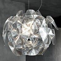 Modern Echinacea hope Laser lotus chandelier Dia 28.34'' bar indoor decor Hanging light novel Acrylic LED lamps