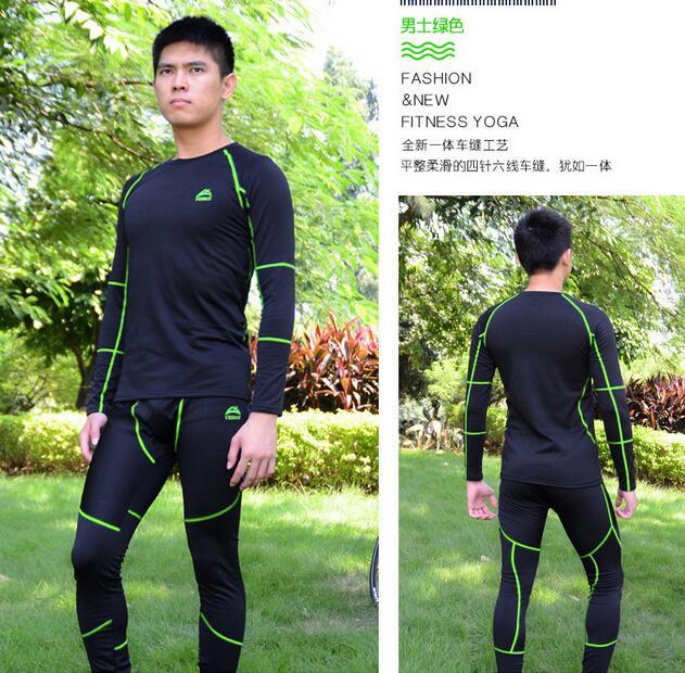 d801143dcd Veobike conjunto de roupa interior térmica esportes ao ar livre Dos Homens  e das mulheres no inverno espessamento elástico cueca