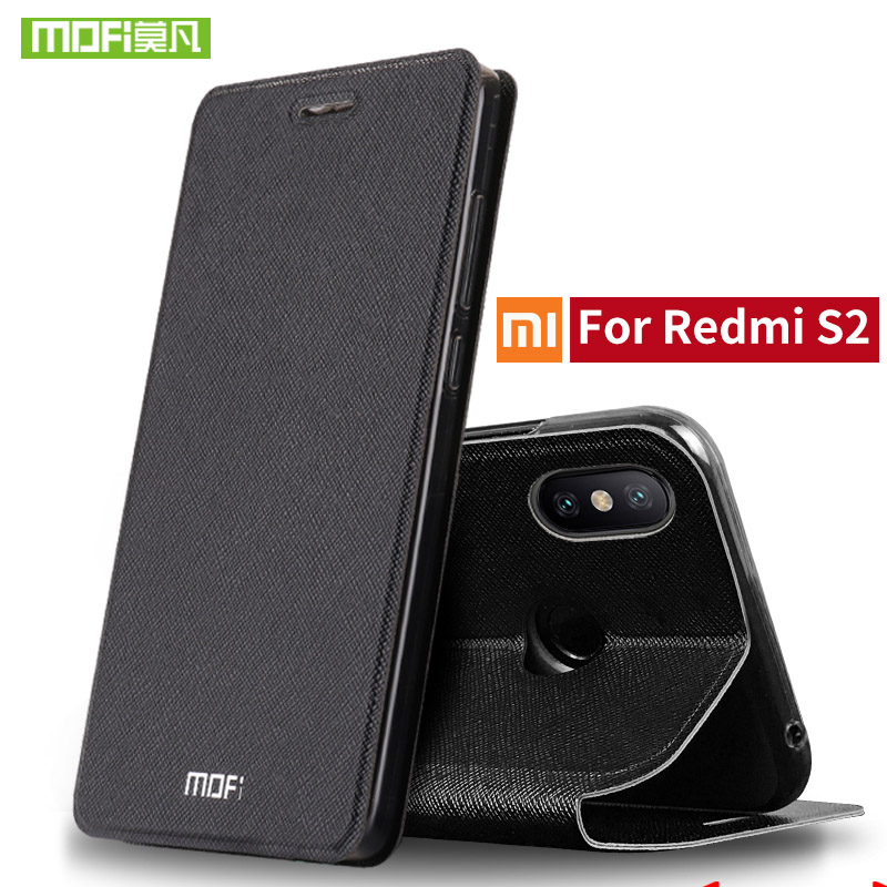 Mofi For Xiaomi Redmi S2 case For Xiaomi Redmi S2 case cover silicon luxury flip leather 360 shockproof For Xiaomi Redmi S2 case