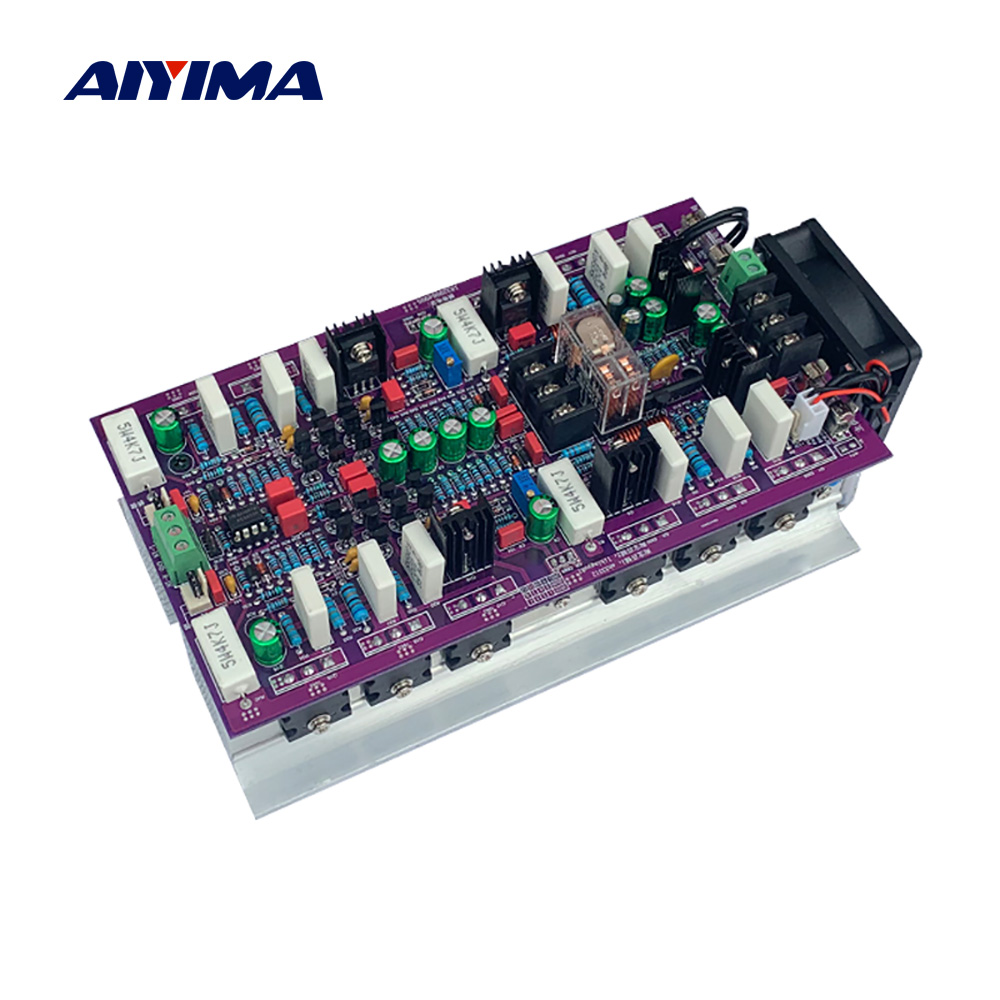 AIYIMA HiFi Amplifier WY2963/WK5688 2.0 Class AB Stereo Power Amplifier Audio Board AMP 600W+600W Home Sound Theatre DIY