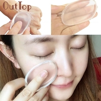 100% Star Hot Blender Silicone Sponge  cosmetic Makeup Puff For Liquid Foundation BB Cream Beauty Essentials  JAN6