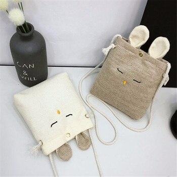 LKEEP Girls mała portmonetka zmień portfel torba dla dzieci portmonetka portfel dziecięcy uchwyt na pieniądze piękny prezent dla dzieci torba z motywem królika