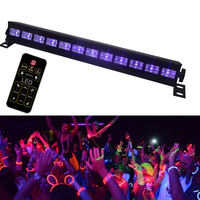 UV Violet Stage Effect Laser Light AC 110V 220V Disco Bar Halloween Xmas Projector Lamp Home Party Decor With Remote Controller