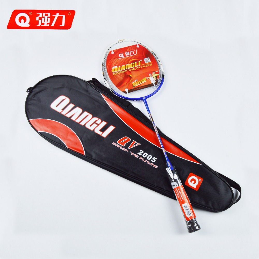 Authentic Qiangli2005 badminton racket nanotechnology 3U badminton raquette badminton