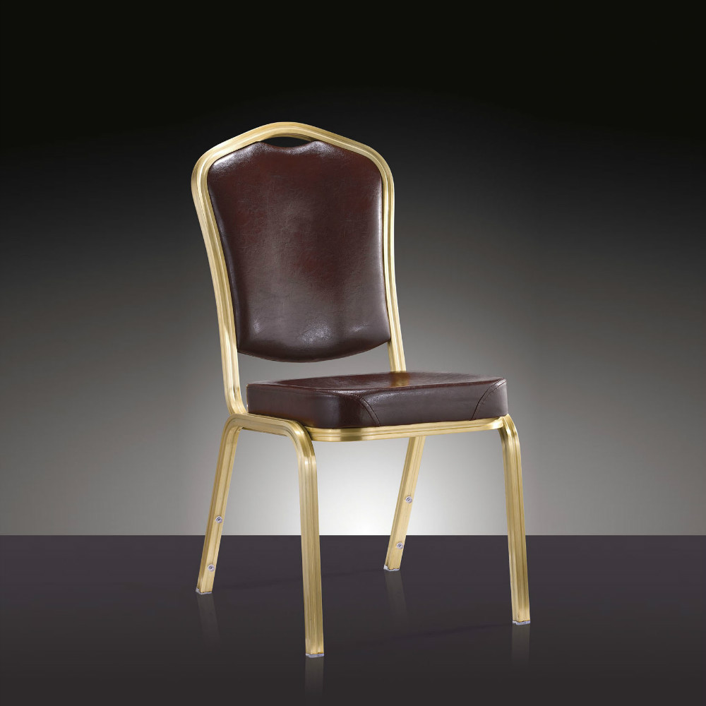 Wholesale Quality Strong Aluminum Stacking Banquet  Chair LQ-L1037