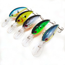 Fishing Lure 10cm 14g Hard Plastic Minnow Crank bait Wobblers Diving Artificial Bait