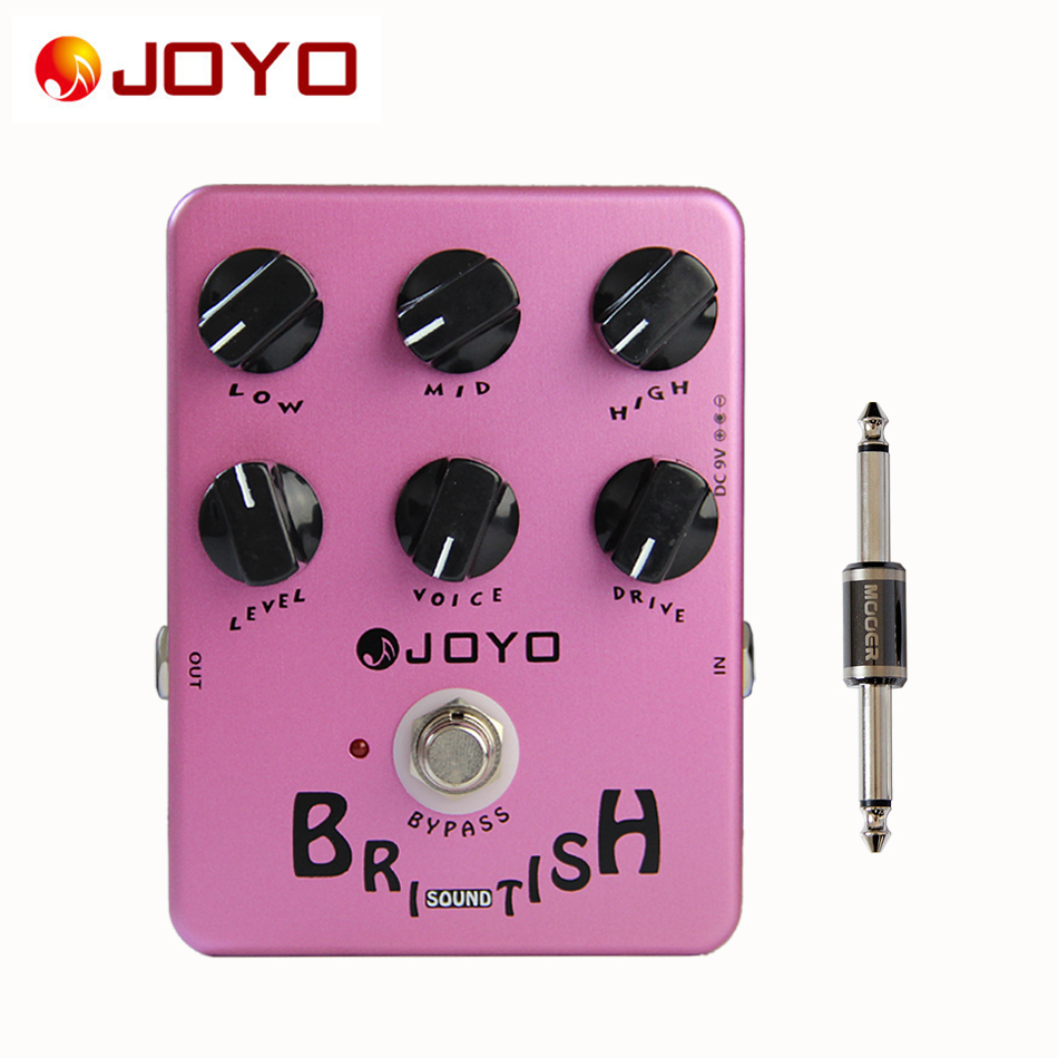 ФОТО JOYO JF-16 Guitar British Sound Effects Pedals Amplifier Simulator+MOOER PC-S pedal connector