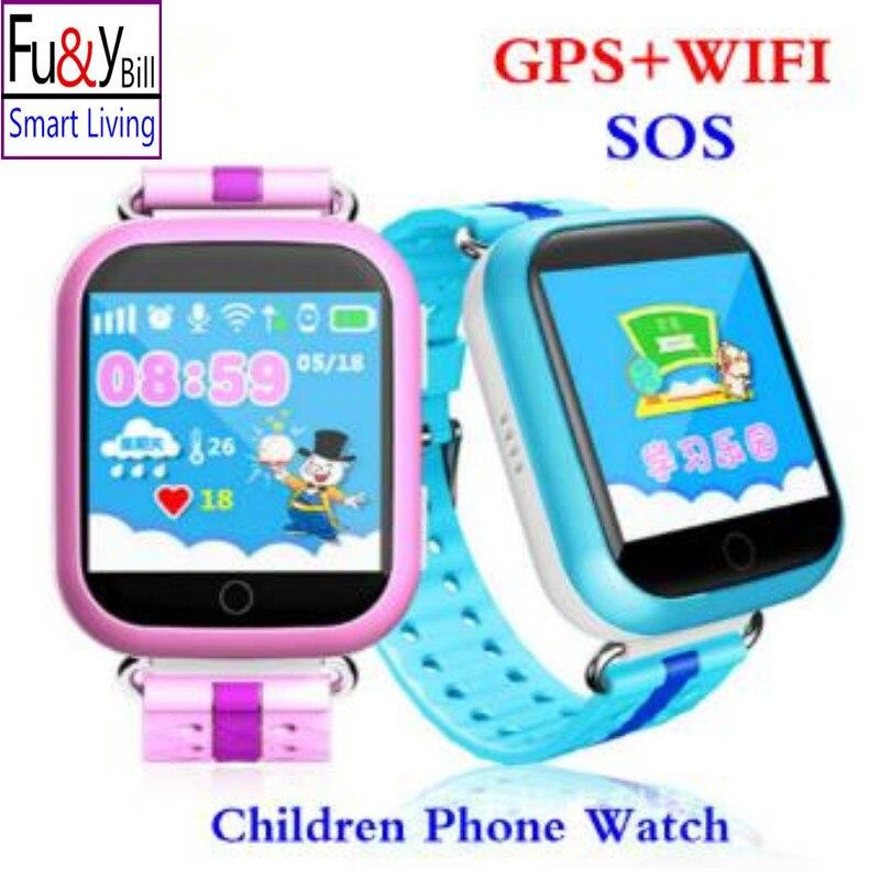 imágenes para Q750 WIFI 1.54 de la pantalla táctil para niños aprendizaje temprano Inteligente reloj bebé Anti-caído alarma Llamada SOS Tracker podómetro PKQ730 Q90 Q80