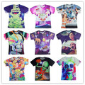 Space Animals/Dorian/Oscar The Nug/Beats Bacon Bitches/Beetlejuice Harajuku t-shirt 3d t shirt plus size S-XXL camisa masculina