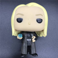 Pop Harry Potter Lucius Malfoy Holding Prophecy FYE Exclusive Vinyl Action Figure Collectible Model no box