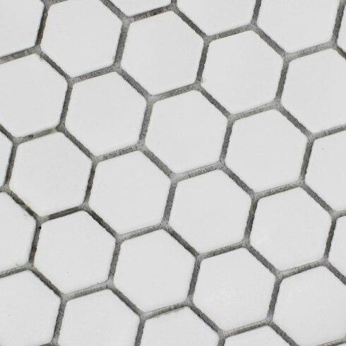 Blanc hexagone carrelage modèles en céramique porcelaine ...
