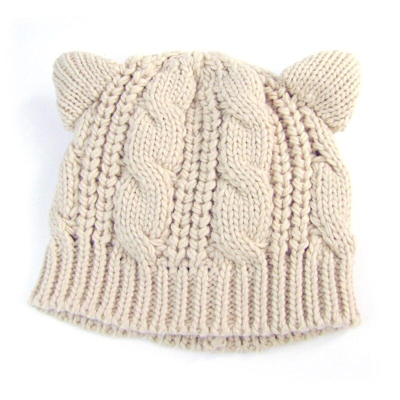2018 Venta caliente orejas de gato lindos sombreros para mujeres ...