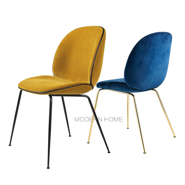 Incroyable Modern Design Loft Simple Upholstered Dining Side Chair Soft Cover Padded  Modern Home Furniture Leisure Computer