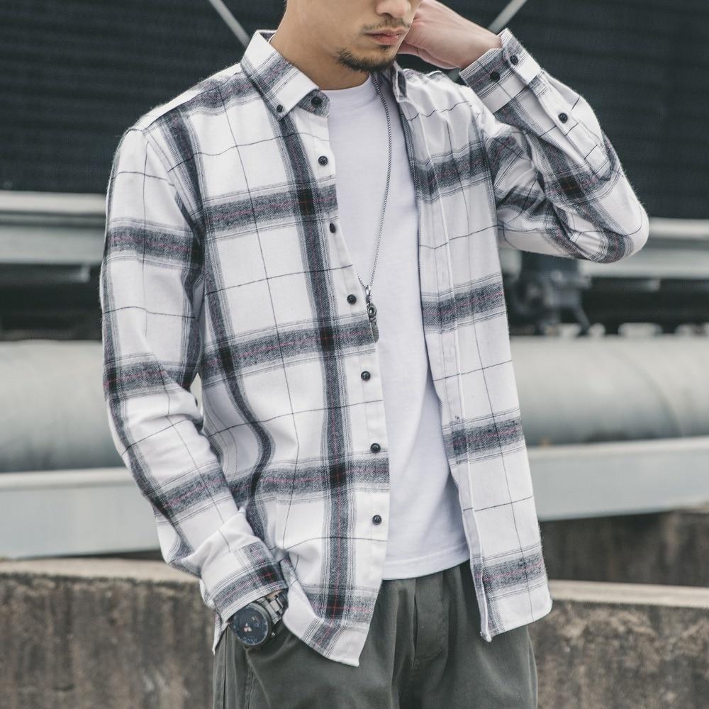 Structure Mens Slim Fit Flannel Dress Shirt-Plaid Size Large