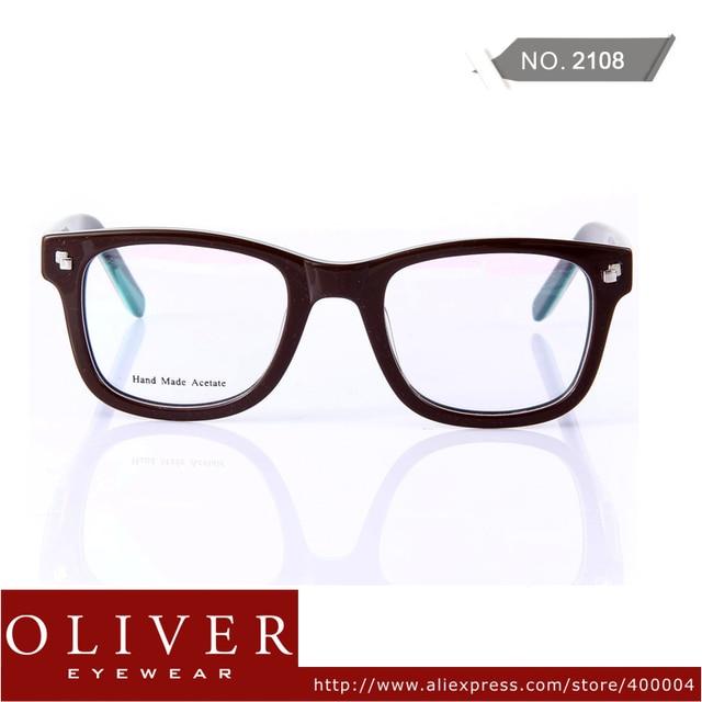 2013 New Arrival Multicolor Cool Optical Frame For Man Oliver Brand Eyeglasses Color Patchwork Eyewear 2108!Free Shipping
