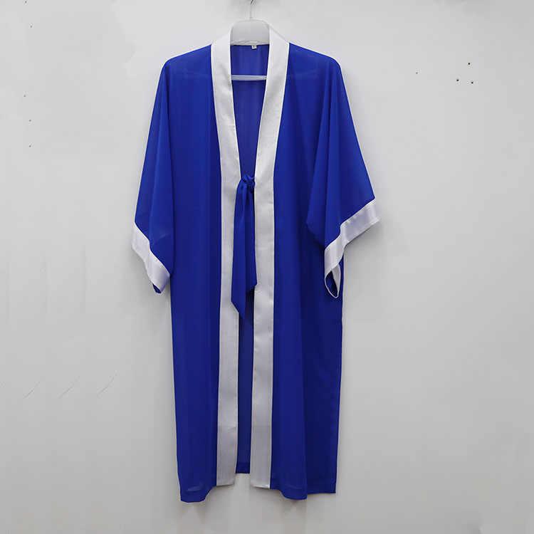 Unisex 7 colores Wudang alta calidad chifón serging mantle tai chi ropa wushu velo bata traje artes marciales rendimiento uniformes
