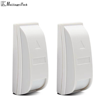 2pcs Mini Curtain PIR detector security system sensor Paradox PA-461 wired Motion Home Alarm anti theft