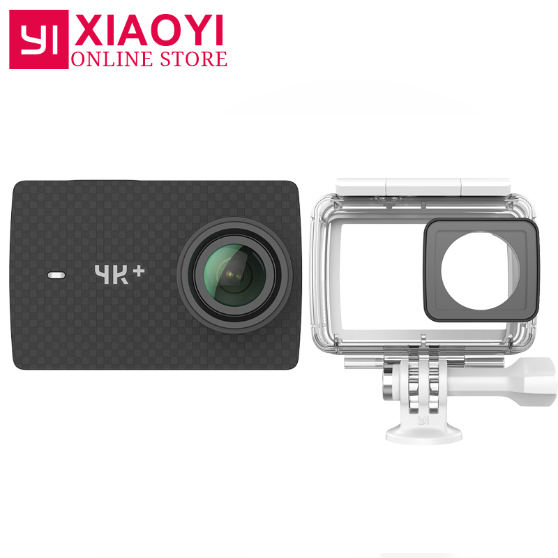 International Edition Xiaoyi YI 4K Action Camera Ambarella H2 4K 60fps 12MP 2 19 RAW 155