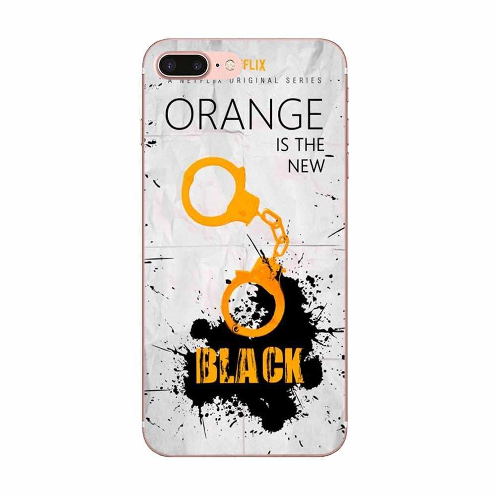 لينة ل غالاكسي A3 A5 A7 On5 On7 2015 2016 2017 جراند ألفا G850 Core2 رئيس S2 I9082 البرتقال هو جديد الأسود المشارك تلفزيوني