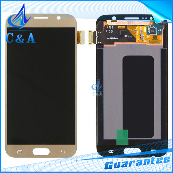 3 pcs DHL EMS replacement repair parts for Samsung S6 G920A G920F lcd display with touch screen digititzer assembly