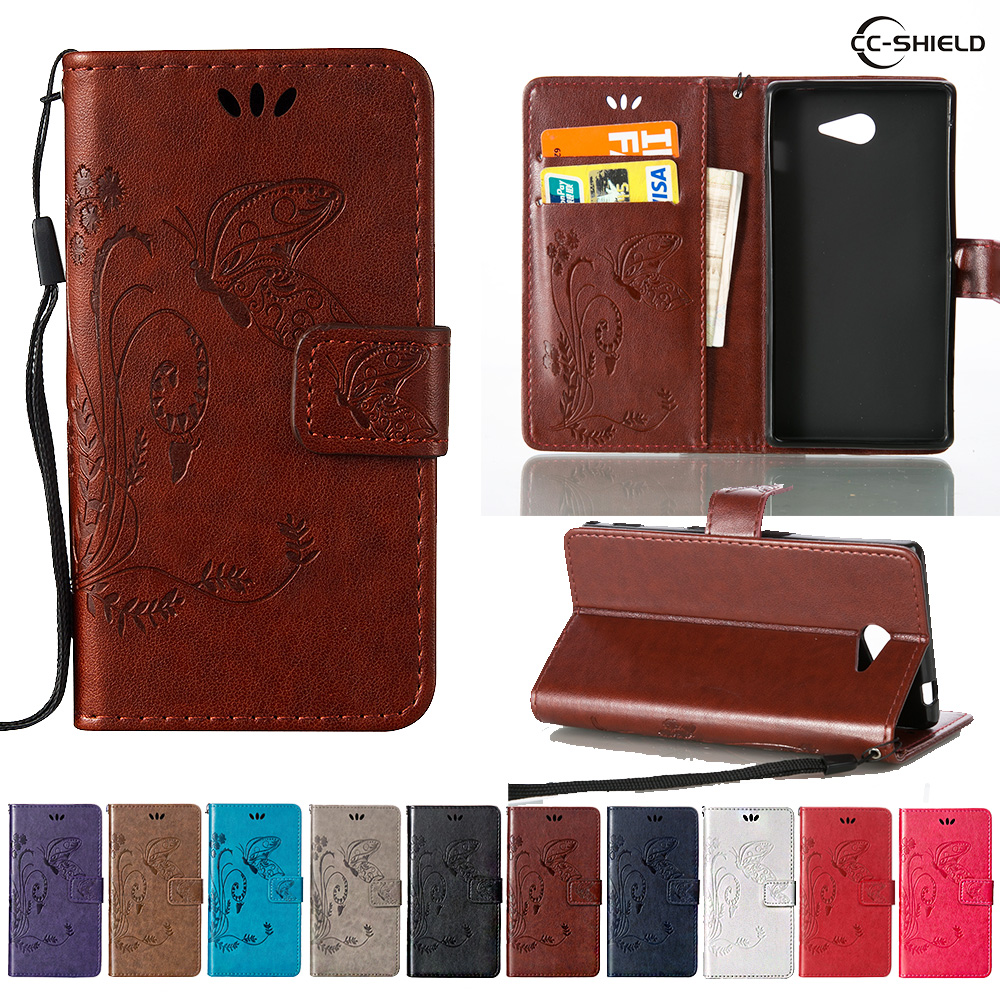 sports shoes 53b7e af908 US $4.41 6% OFF|Flip Case for Sony Xperia M2 D2302 D2303 D2403 Leather Flip  Cover Wallet Case for Sony Xperia M 2 D 2302 2303 Mobile phone bags-in ...