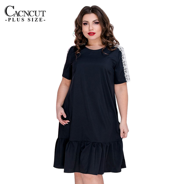 5Xl 6Xl Summer Casual Lace...