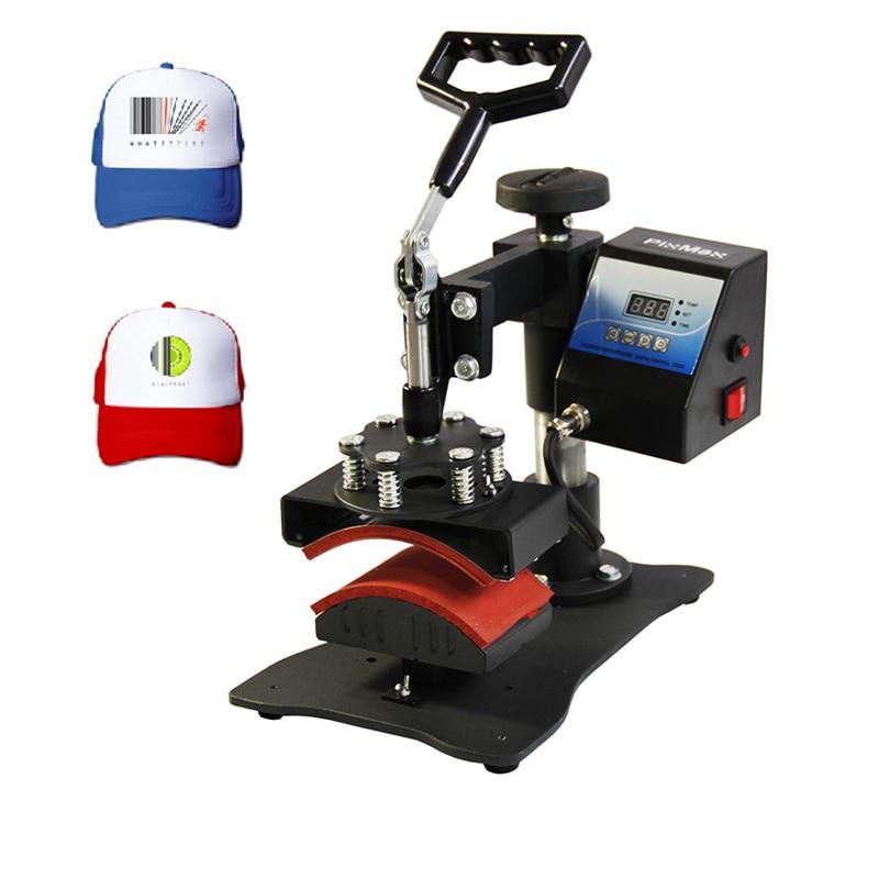 Cap Heat Press Machine Sublimation Printer Digital Swing Away Heat Transfer Cap Printing Machine Personalised Baseball Cap недорго, оригинальная цена