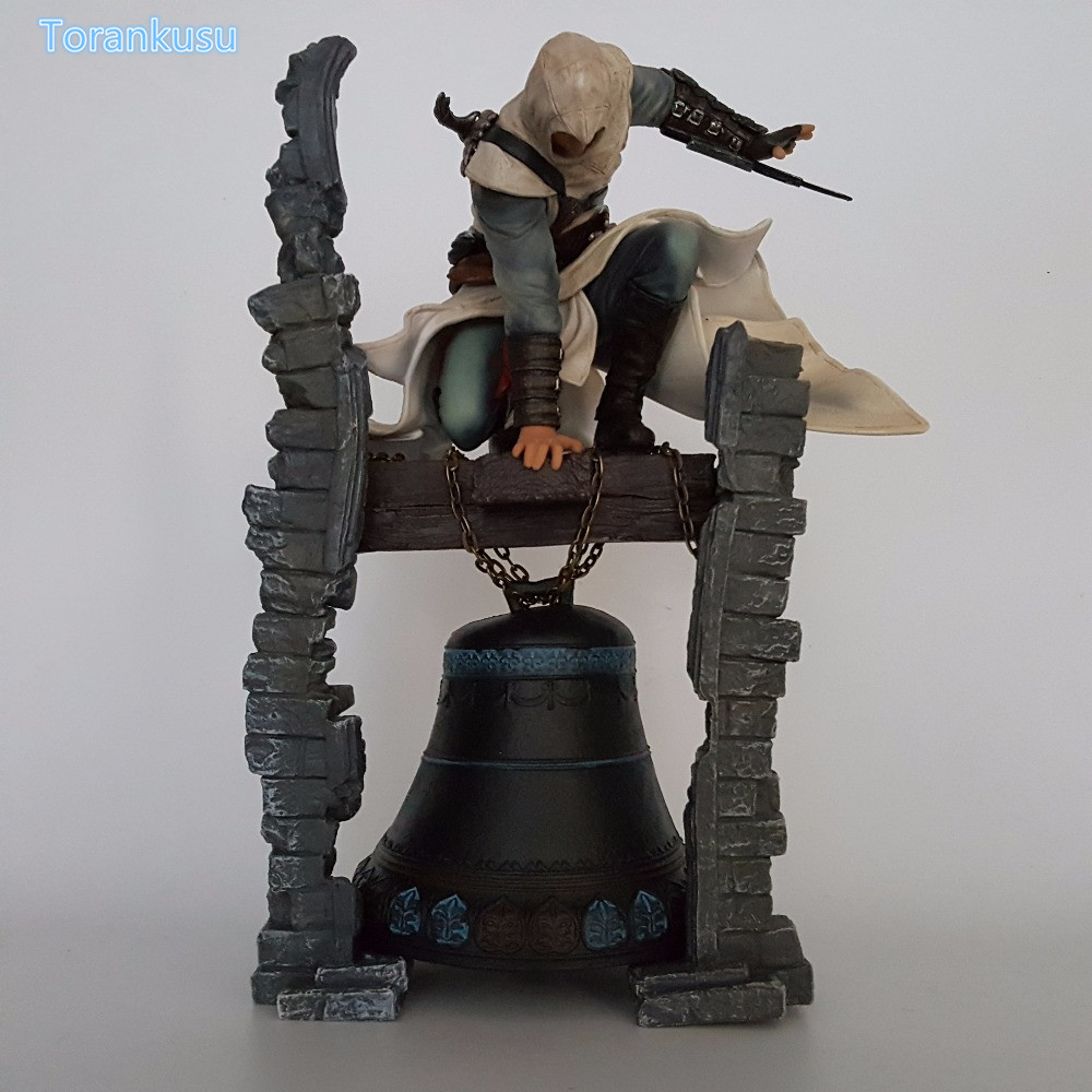 Assassin's Creed Action Figures Edward Altair The Legendary Assassin Bell Tower PVC Model Toy 280mm Anime Game Assassin Creed корбиран э assassin s creed цикл i анкх исиды