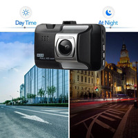 USB Dash Cam 3 HD 1080P Car Camera Driving Recorder 170 Wide Angle Dashboard Camera with Night Vision Cycle Recording