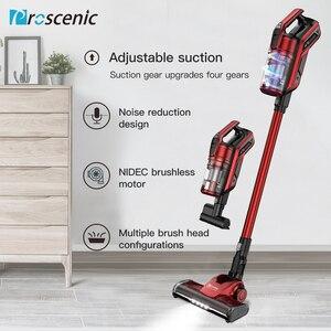 Image 1 - Proscenic I9 Cordless Vacuum Cleaner 22000Pa Powerful 2in1 lightweight Handheld Vacuum with Recharging Li ion battery LED Brush
