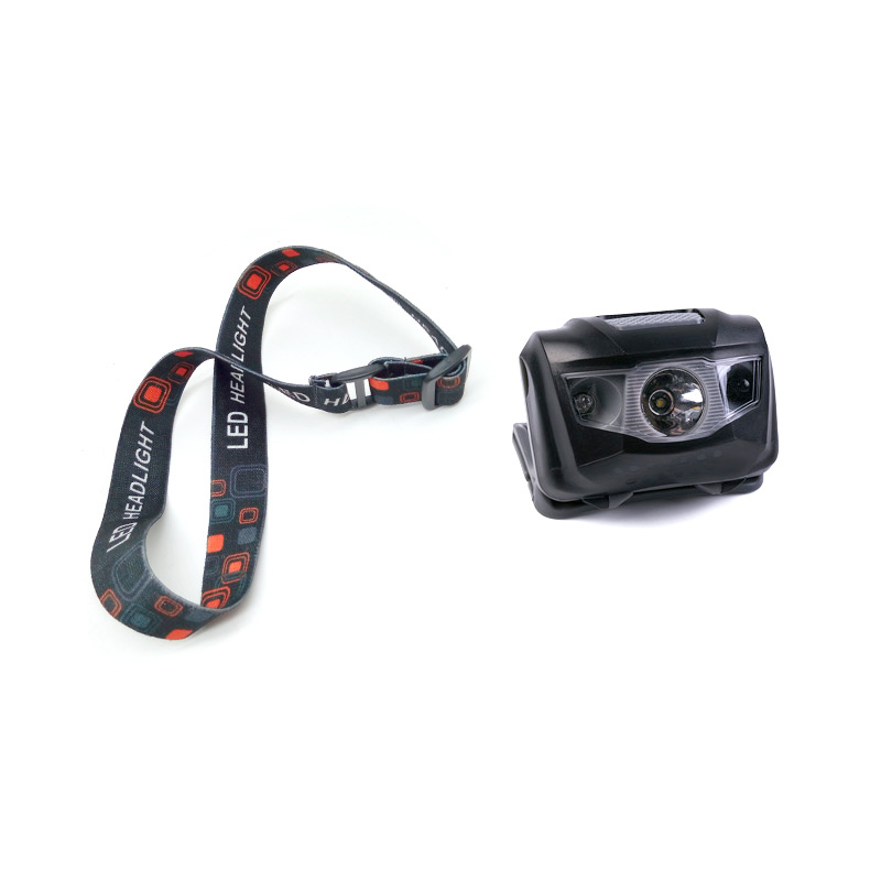 QINL Inductive LED Headlamp Waterproof Fishing Headlmaps Flashlighting Outdoor Cycling Headlighting Head lamp Torch Lighting AAA