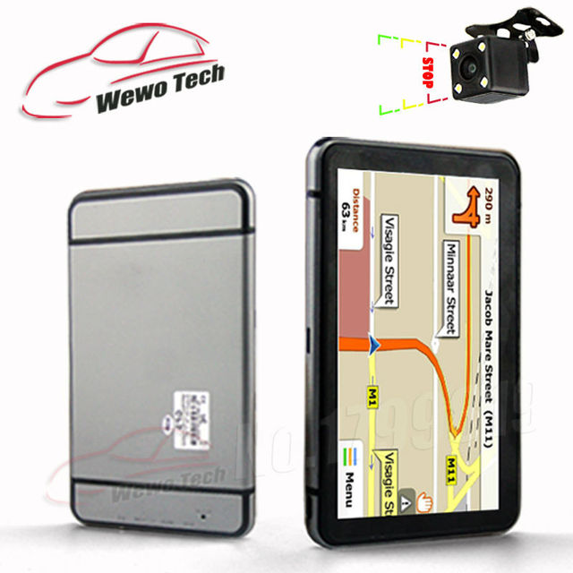 7 inch GPS Navigation with 256MB 8GB Bluetooth+AV-IN 2015 Maps For Russia/Belarus/Kazakhstan Europe/USA+Canada Navigtor
